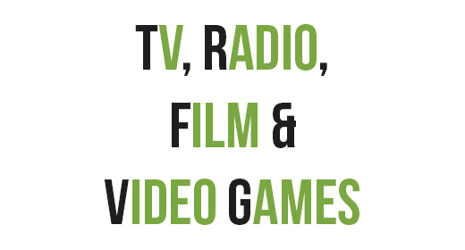 TV, Radio, Film & Video Games