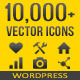 10,000+ Vector Icons - WordPress