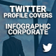 Twitter Covers - Infographic Corporate - GraphicRiver Item for Sale