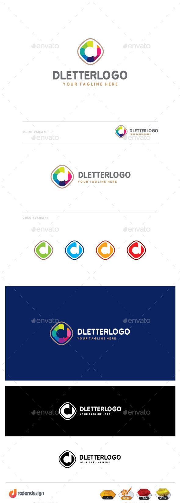GraphicRiver D Letter Logo 9894111