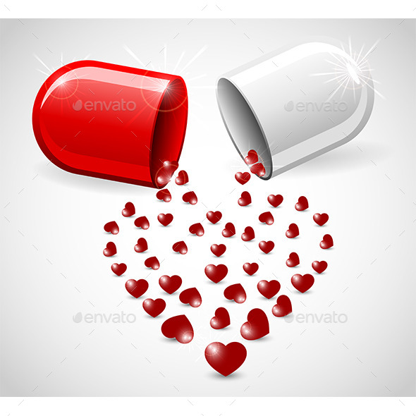 GraphicRiver Love Pill 9894202