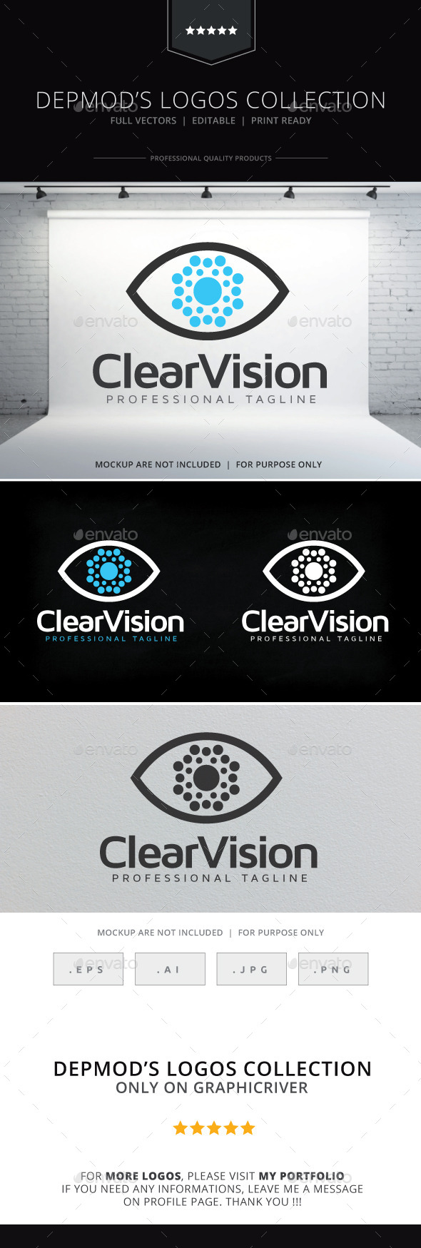GraphicRiver Clear Vision Logo 9894283
