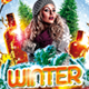 Winter Theme Party - Flyer PSD Template - GraphicRiver Item for Sale