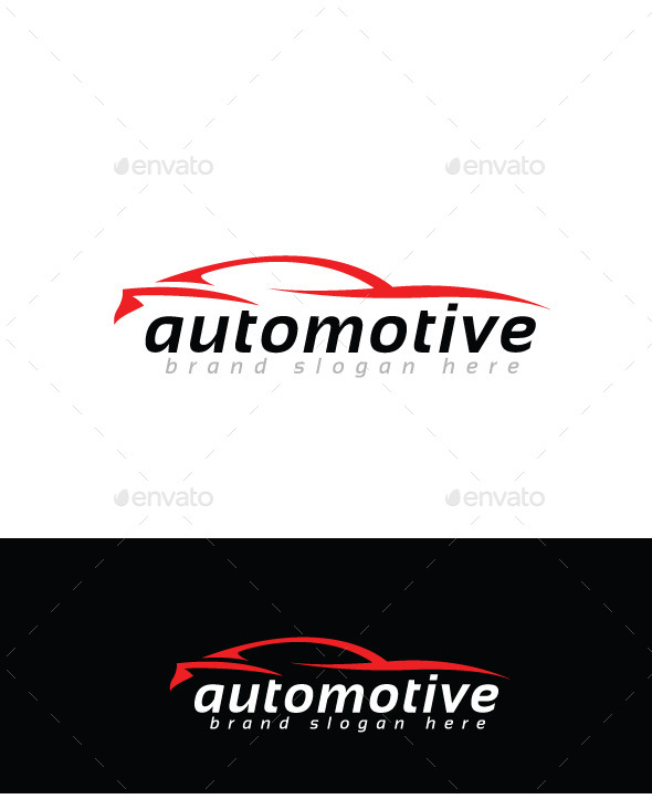 GraphicRiver Automotive Logo Template 9894590