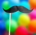 paper mustache on a stick - PhotoDune Item for Sale