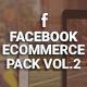 Facebook Ecommerce Pack Vol.2 - GraphicRiver Item for Sale