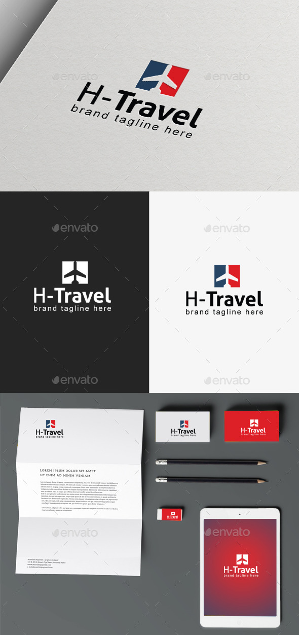 GraphicRiver Travel Logo 9895093