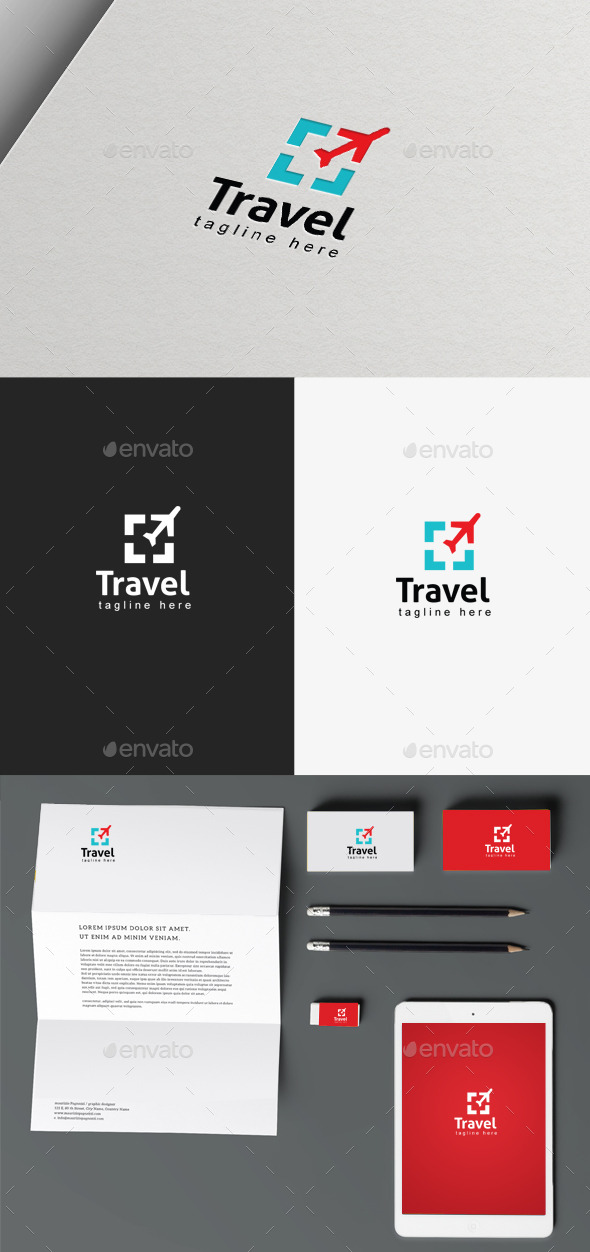 GraphicRiver Travel Logo 9895116