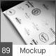 Flyer / Logo / Brochure / Close-Up Mock-Up - GraphicRiver Item for Sale