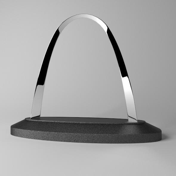 3DOcean Scale 3D Gateway Arch Model 9895413