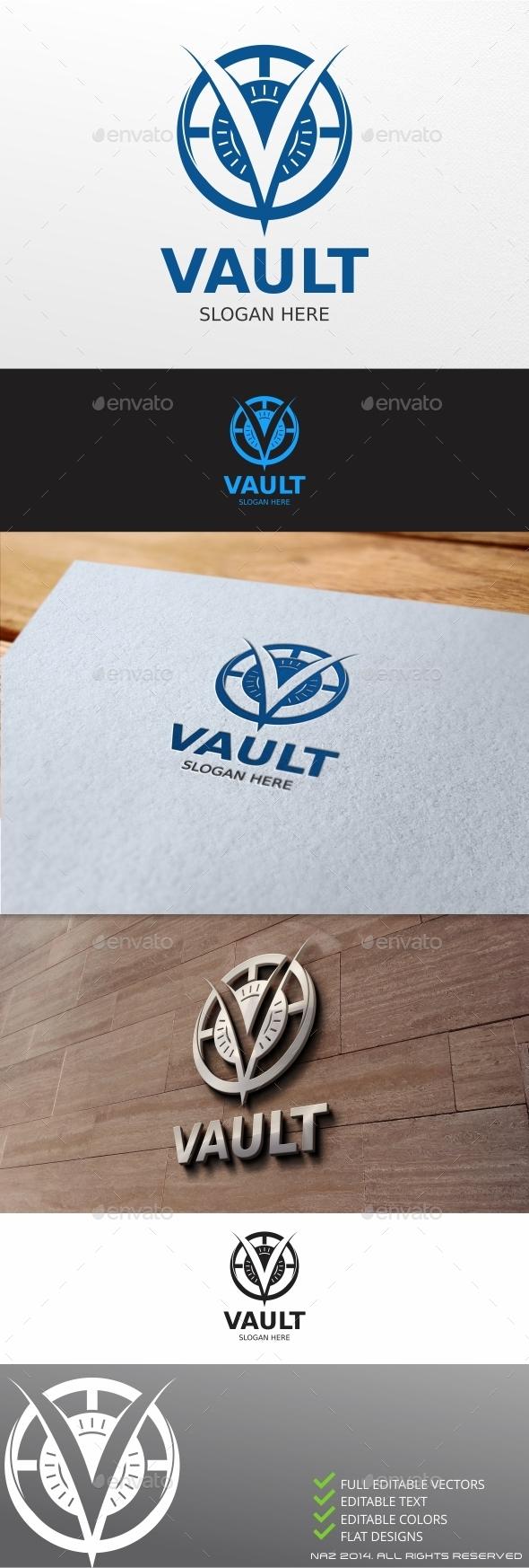 GraphicRiver Vault Logo 9895718