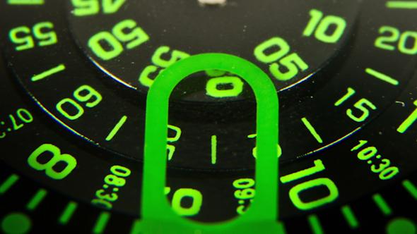 Clock Face Macro Watch 6