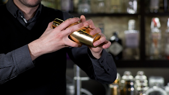 Cocktail Man Bar Drink 2