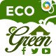 Eco Green Social Media Graphic Pack - GraphicRiver Item for Sale