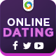 Dating Website Social Media Graphic Pack - GraphicRiver Item for Sale