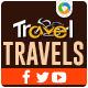 Travel & Tourism Social Media Graphic Pack - GraphicRiver Item for Sale
