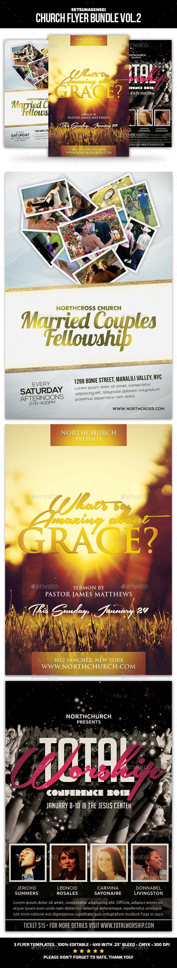 Church Flyer Bundle Vol 2