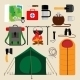 Camping Equipment Icons - GraphicRiver Item for Sale