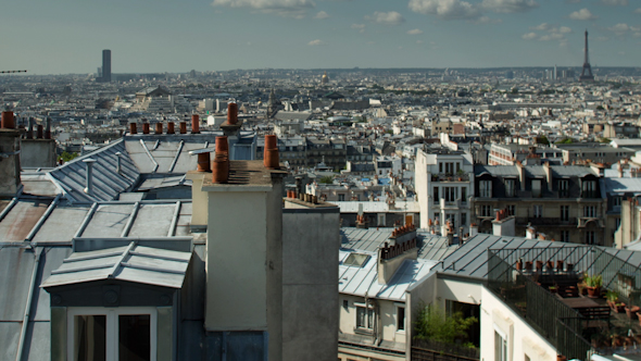 Montmatre Rooftops Paris France 3