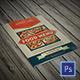 Bifold Retro Menu - GraphicRiver Item for Sale