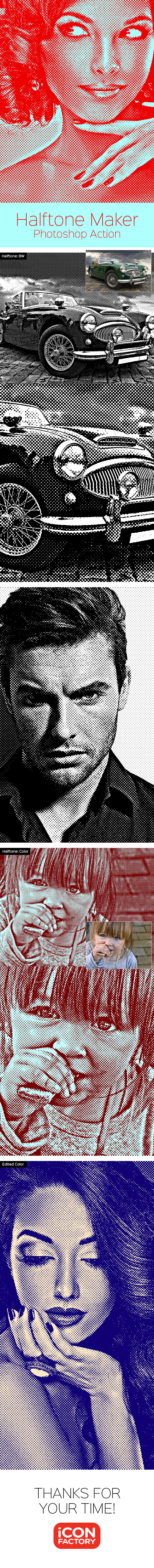 Halftone Maker Photoshop Action