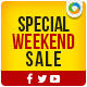Weekend Sale Social Media Graphic Pack - GraphicRiver Item for Sale