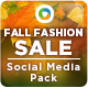 Fall Fashion Social Media Graphic Pack - GraphicRiver Item for Sale