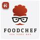 Food Chef Logo - GraphicRiver Item for Sale