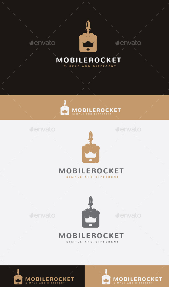 GraphicRiver Mobile Rocket 9897027