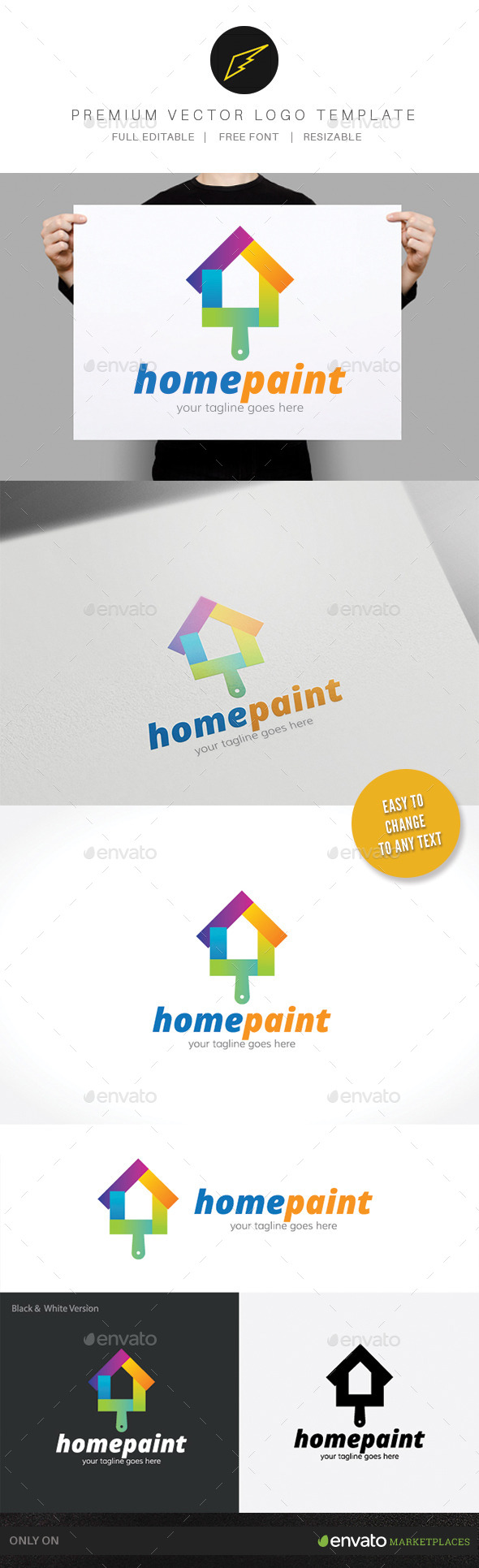 GraphicRiver Home Paint 9897032