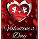 Valentines Day Flyer Template V3 - GraphicRiver Item for Sale