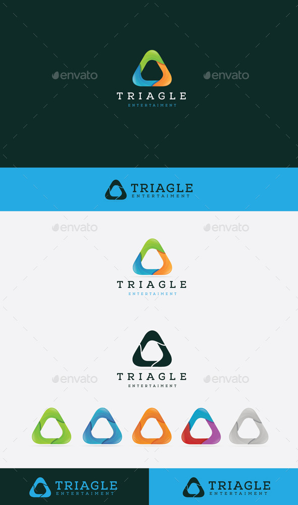 GraphicRiver Triagle 9897059