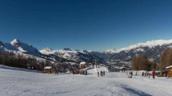 Ski French Alps 3