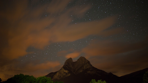 Starlapse Pedraforca Mountain 3