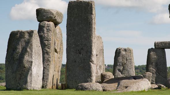 Stone Henge England Tourism Monolith Stones 11