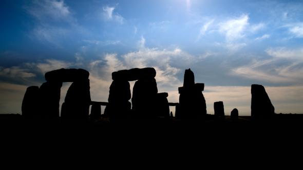 Stone Henge England Tourism Monolith Stones 21