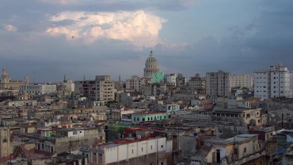 Sunset Havana Cuba 1