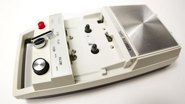 Tape Recorder Vintage Cassette 4
