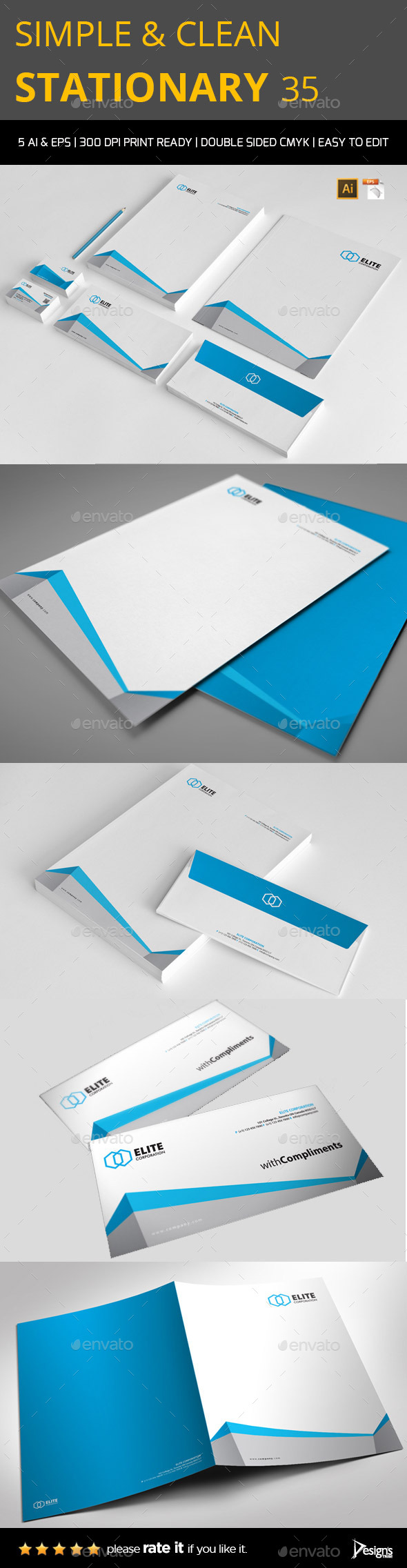 GraphicRiver Stationery 3 9897564