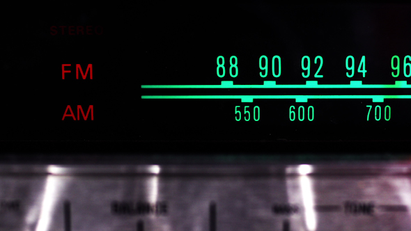 Vintage Radio Dial 13