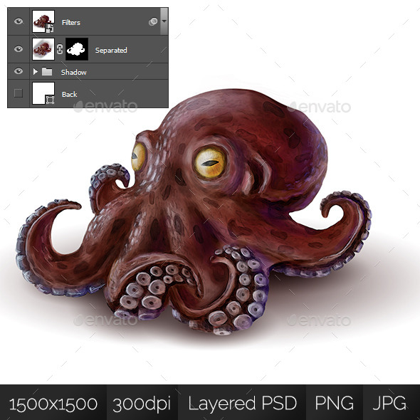 GraphicRiver Octopus 9860758