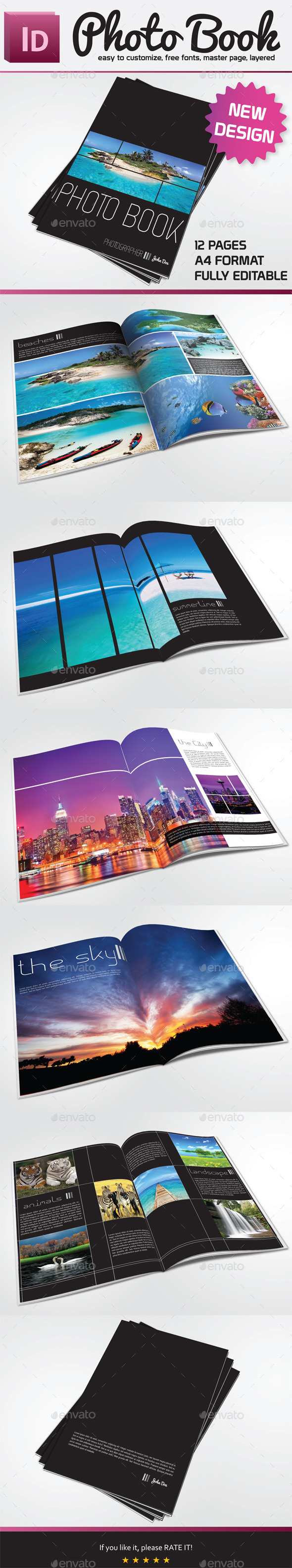 GraphicRiver Photo Book Template 9898533