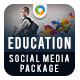 Education Social Media Graphic Pack - GraphicRiver Item for Sale