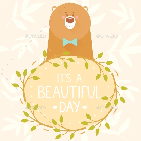 GraphicRiver Bear Frame 9899134