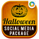 Halloween Social Media Graphic Pack - GraphicRiver Item for Sale
