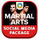 Martial Arts Social Media Graphic Pack - GraphicRiver Item for Sale