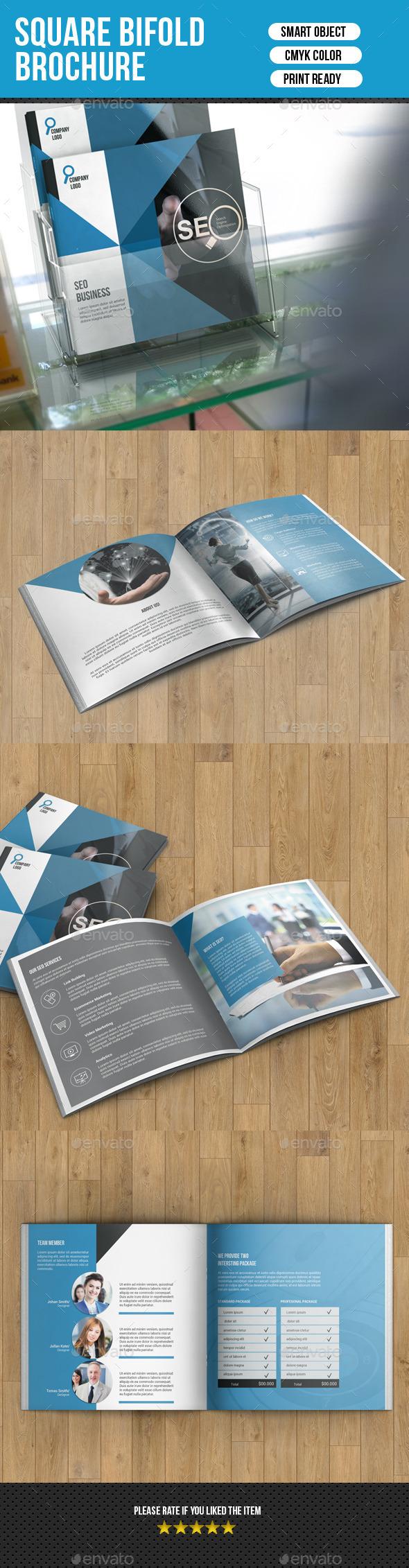 GraphicRiver Corporate Square Bifold Brochure-V08 9899905