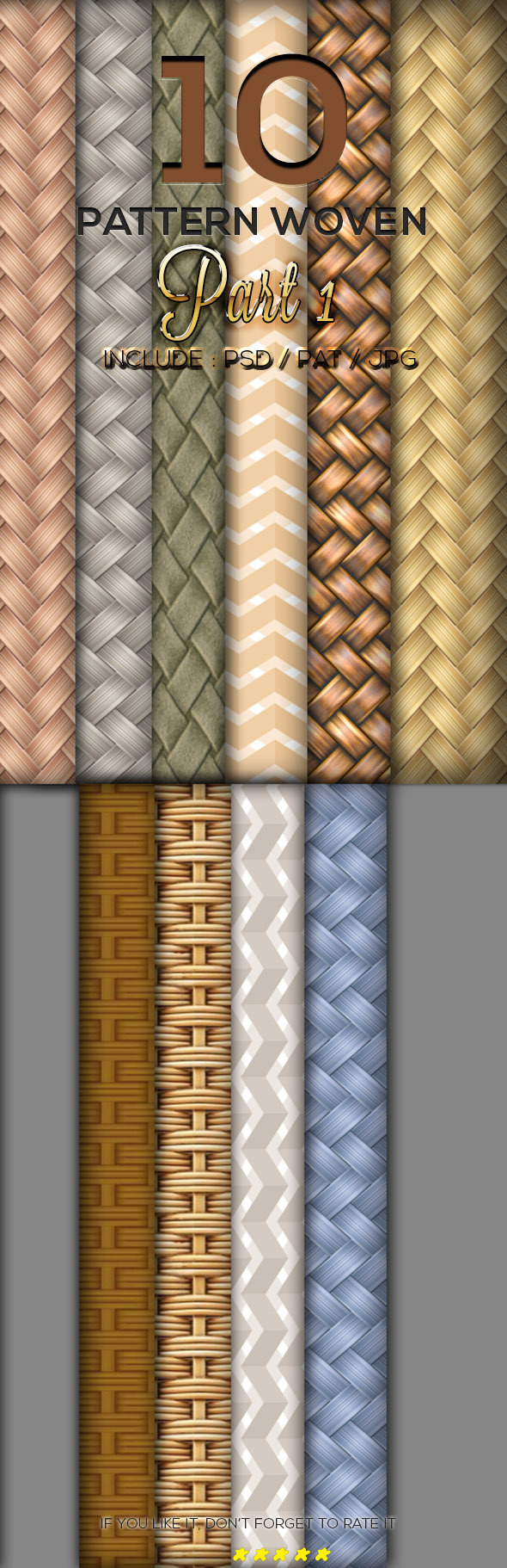 GraphicRiver 10 Woven Texture Pattern Part 1 9900236