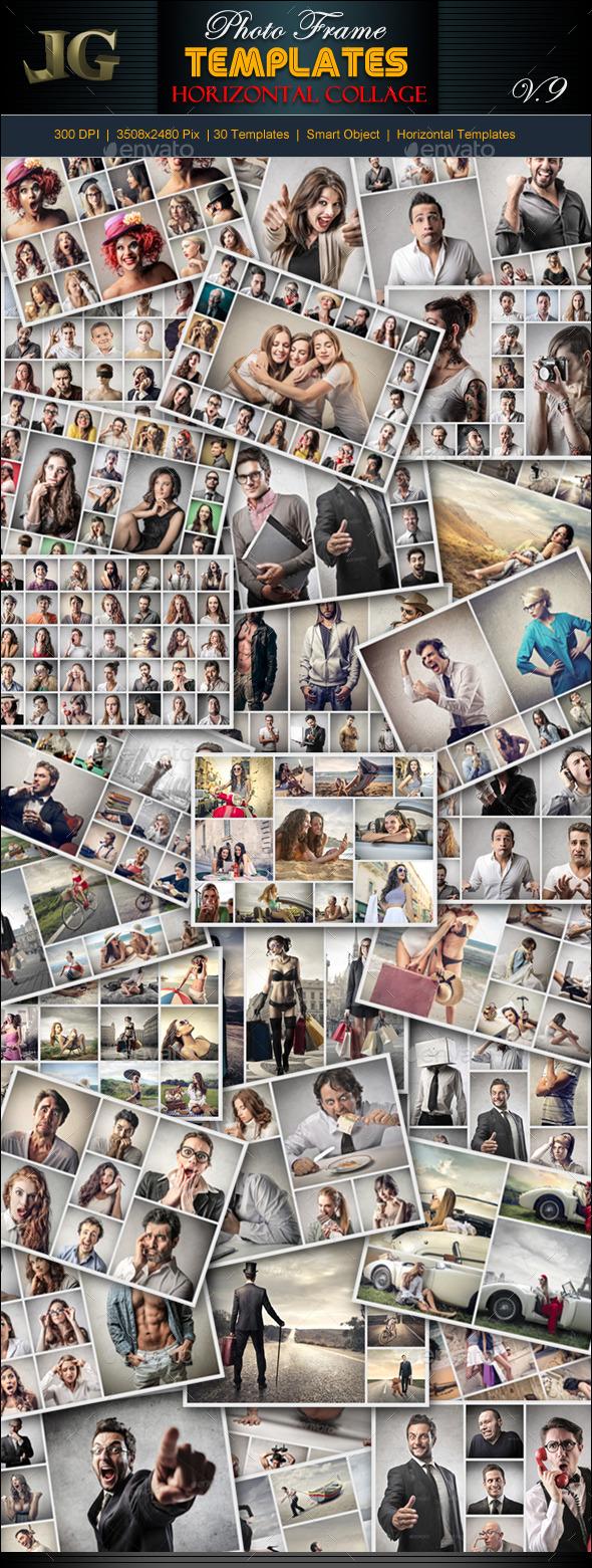 GraphicRiver Photo Frame Templates V9 9860942
