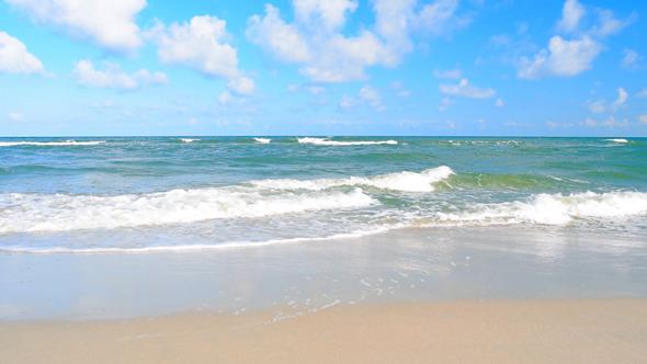 Ocean Beach & Waves Sea